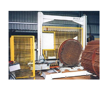 熱交換器管束帶鋸機2