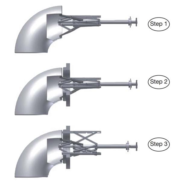 手動式法蘭內部夾具2