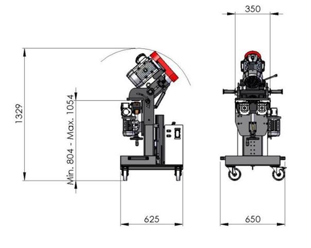 COMPACT EDGE 80 尺寸